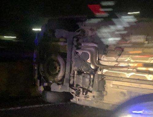 Col·lisió de dos vehicles a l'autovia de Tortosa-l'Aldea sense ferits