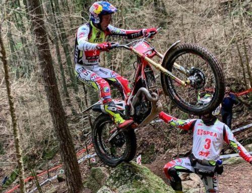 Adam Raga a punt d'aconseguir el sisè campionat d'Espanya de trial