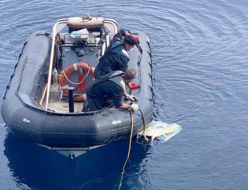 Pescadors de Castelló rescaten el cadàver d'un home que podria ser un dels tripulants de l'avioneta desapareguda