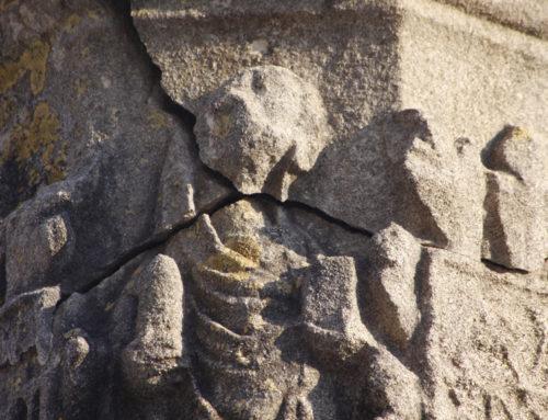 El Centre de Restauració de Béns Mobles de Catalunya restaura el capitell del segle XV de la Creu de Terme d'Ulldecona