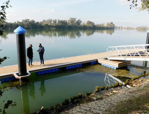 El nou embarcador del Parc del Riu de Deltebre finançat pel GALP Mar de l'Ebre ja és una realitat
