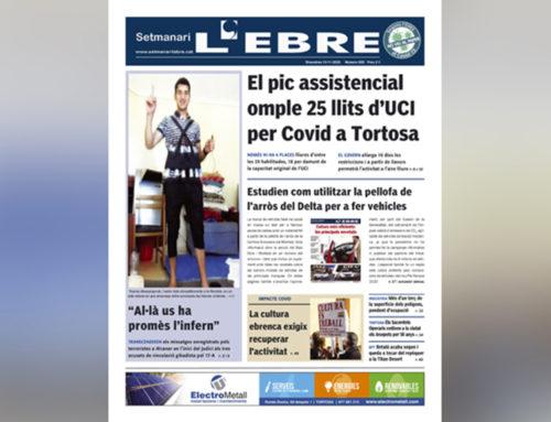 L'impacte Covid a l'UCI, un especial motor i les imatges dels terroristes a Alcanar, a la portada de l'edició en paper del Setmanari L'EBRE