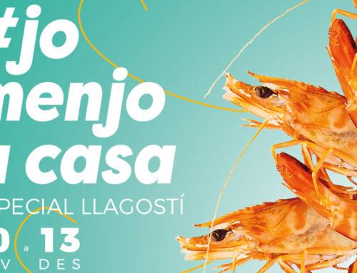 La gastronomia rapitenca celebra la segona edició de #JoMenjoACasa amb el llagostí com a protagonista