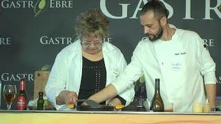 Gastroebre 2020: Cuina en directe amb Albert Guzmán i Maria Teresa Jiménez