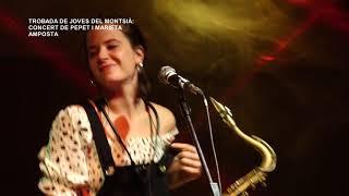 Trobada de Joves del Montsià 2020: concert de Pepet i Marieta