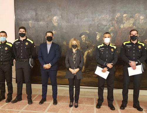 La Policia Local de Tortosa amplia la plantilla amb la incorporació de cinc nous agents