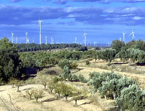La Ponència d'energies renovables dona llum verda a la central eòlica Tramuntana V que es projecta a Gandesa