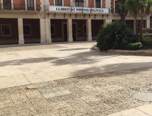 Movem Tortosa troba innecessàries les obres de la plaça de l'Ajuntament i l'alcaldessa diu que si no es fa el projecte es perdria la subvenció