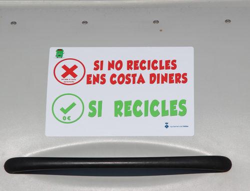 L'Ajuntament de l'Aldea impulsa una campanya per conscienciar la ciutadania sobre la necessitat de reciclar els residus correctament
