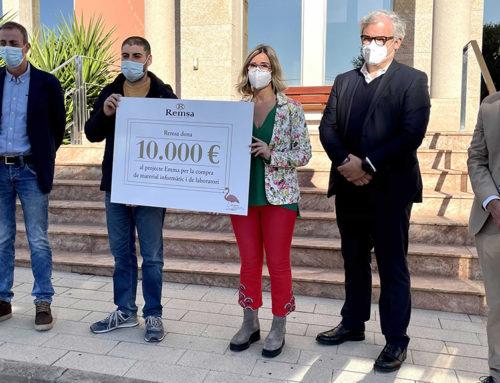Remsa dona 10.000 € al projecte d'investigació del càncer de mama Emma