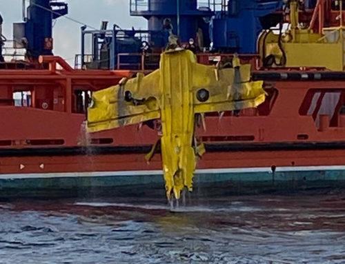 Rescaten el cos del pilot i les restes de l'avioneta de l'Aeroclub de Reus accidentada a la costa del delta de l'Ebre