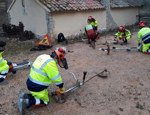 Dos plans d'ocupació impulsats per la Diputació de Tarragona milloren entorns naturals i urbans de la Terra Alta i la Ribera d'Ebre
