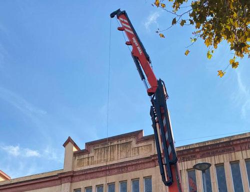 L'Ajuntament de Tortosa arranja la coberta del Mercat Municipal