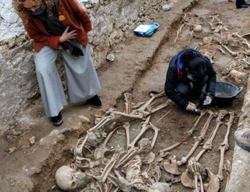 Justícia recupera les restes de 22 soldats republicans enterrats en una fossa a Salomó