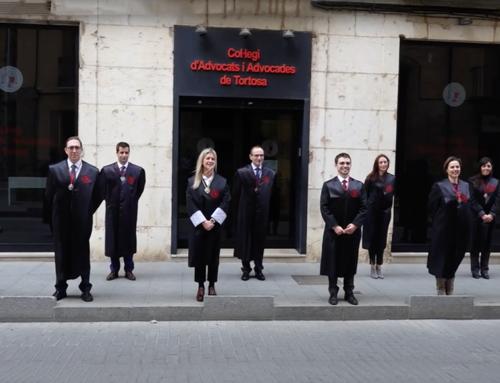 Constituïda la nova junta de govern del Col·legi d'Advocats i Advocades de Tortosa