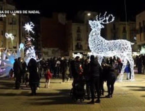 Encesa de les llums de Nadal a Tortosa
