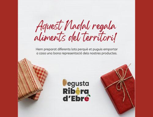 Una trentena de productors i elaboradors agroalimentaris de la Ribera d'Ebre uneixen esforços per promoure lots de Nadal