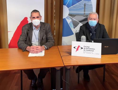 El Consorci d'Aigües de Tarragona redueix un 13,6% el consum d'aigua el 2020 per la covid-19