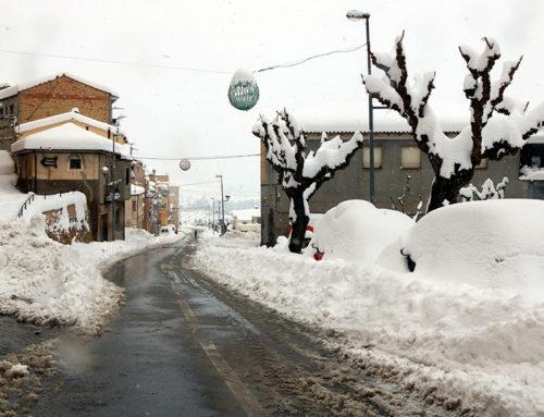 Escoles tancades, pistes de gel als carrers i transport suspès és l'escenari post temporal a la Terra Alta