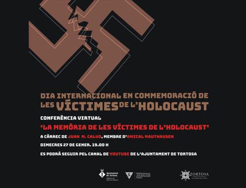 Tortosa recorda els deportats en un acte institucional amb motiu del Dia Internacional de les Víctimes de l'Holocaust