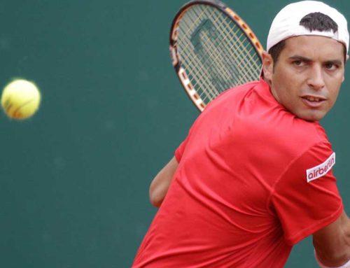 El tennista rapitenc Albert Montañés, 'despenja' la raqueta