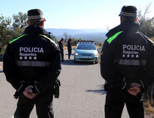 Les policies posen 26 multes en els controls als accessos dels Ports del cap de setmana