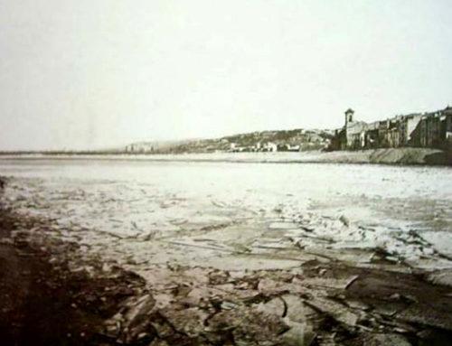 Aquest dilluns es compleixen 130 anys de l'última vegada que es va gelar el riu Ebre a Tortosa