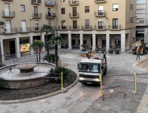 La font de la plaça de l'Ajuntament de Tortosa es traslladarà al parc municipal Teodor González