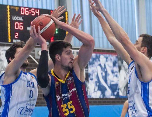 Jaume Sorolla contribueix al triomf del Barça 'B' que es manté líder