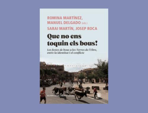 Bellaterra Edicions publica en un llibre l'estudi antropològic 'Que no ens toquin els bous'