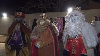 Visita de Ses Majestats els Reis d'Orient a Flix