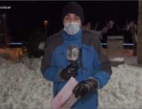 Arnes intensifica els treballs per retirar la neu i evitar que es converteixi en gel
