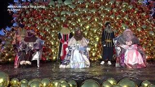 Cavalcada dels Reis d Orient a Alcanar