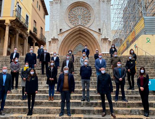 JxCat presenta la llista de Tarragona amb Mònica Sales com a número dos de la candidatura