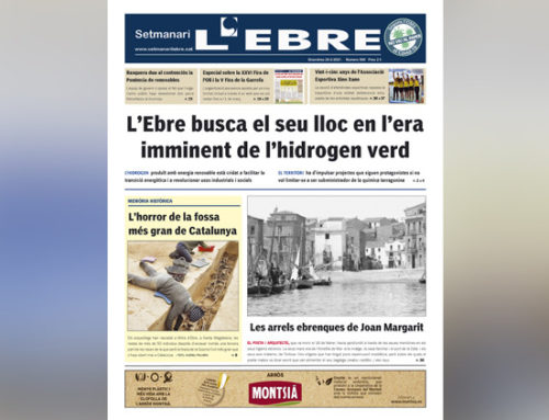 L'horitzó amb hidrogen verd i les arrels ebrenques de Joan Margarit, a la portada en paper del Setmanari l'Ebre