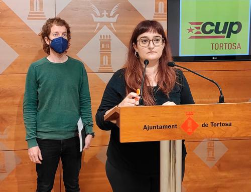 La CUP de Tortosa portarà al ple la implementació de polítiques feministes