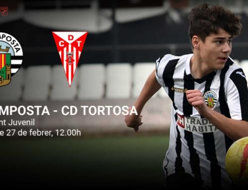 Torna la lliga juvenil preferent amb un plat fort: CF Amposta-CD Tortosa