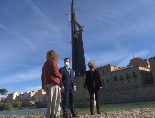 L'Ajuntament de Tortosa dona la llicència d'obres per retirar el monument després de rebre la instància de Justícia