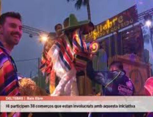 Deltebre celebra el Carnaval als aparadors dels comerços