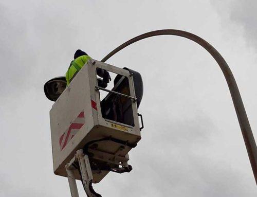 Tortosa renova l'enllumenat al polígon industrial Baix Ebre amb noves lluminàries més eficients i sostenibles