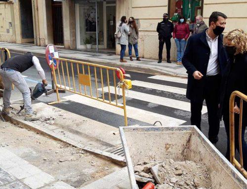 Tortosa intensifica la millora de la via pública amb la supressió d'una cinquantena de barreres arquitectòniques