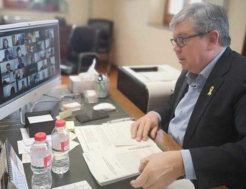 El ple del Consell del Baix Ebre reclama la llei d'amnistia i rebutja l'empresonament de Pablo Hasél