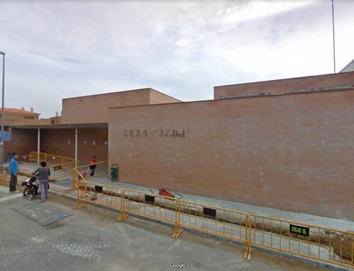 El nou edifici de l'Institut Escola 3 d'Abril de Móra la Nova, agafa forma