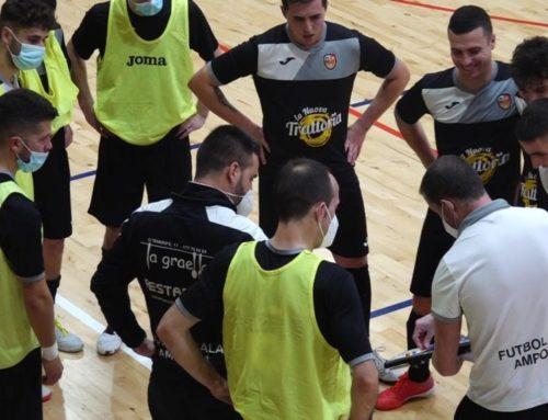 L'Amposta i el Tortosa guanyen a casa i la Sénia cau a fora a la divisió d'honor de futbol sala