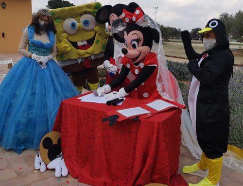 Mickye i Minnie es 'casen' a l'Ebre