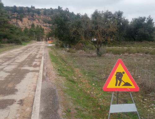 La Diputació de Tarragona millora la seguretat viària a la carretera T-1110, entre la T-330 a Horta de Sant Joan i el pont del Riu Algars