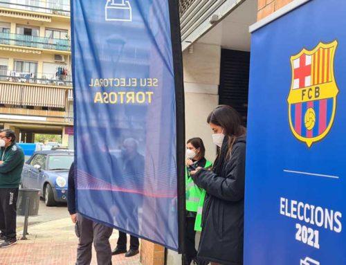 Degoteig constant dels socis ebrencs del Barça des de primera hora a la seu de la FCF a Tortosa