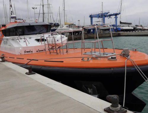 L'empresa rapitenca Nasai Marine construïx l'embarcació de practicatge més gran de l'Estat