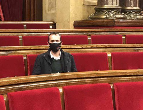 Jordi Jordan porta al Parlament el nou transvasament al Baix Camp