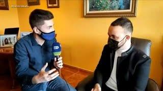 Jaume Borja i Roger Font s'acomiaden del Ben Trobats de forma molt especial